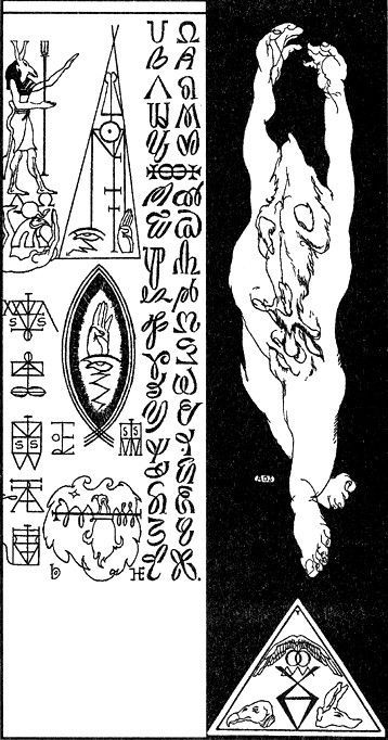 57 best st hermetic studies images on pinterest alchemy the death posture by austin osman spare source fandeluxe Image collections