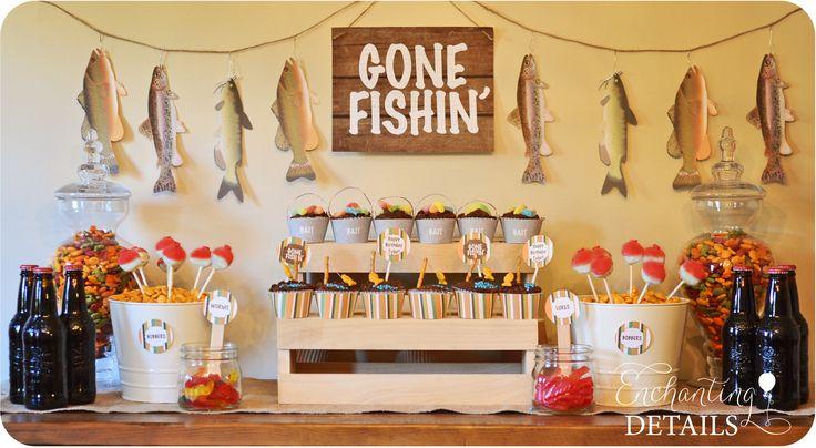 Fishing Party Ideas   enchantingdetails.com