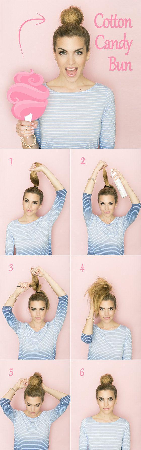 Wenn Du heute besonders spröde Haare hast, dann ist diese Frisur Deine Rettung. | 25 Tipps und Tricks für den perfekten Dutt