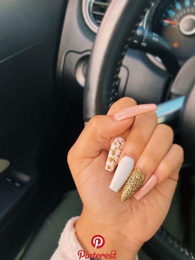 35 Latest Glitter Acrylic Nail Art Designs Ideas For Long