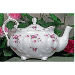 Scatter Rose Fine Bone China-Victorian Teapot