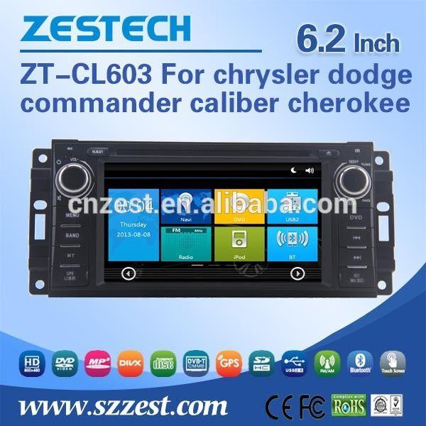 For chrysler dodge commander caliber cherokee CD player support Am / Fm radios audio multimidea player BT Phone book