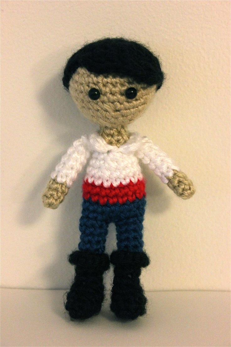 Little Prince Amigurumi Free Pattern : 85 best images about Crochet Toys--Dolls--Disney on ...