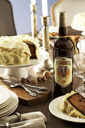Amarula Christmas Cake