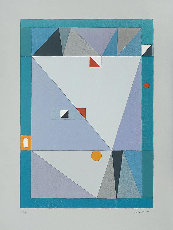 Jerzy Nowosielski | Abstrakcja, 1997