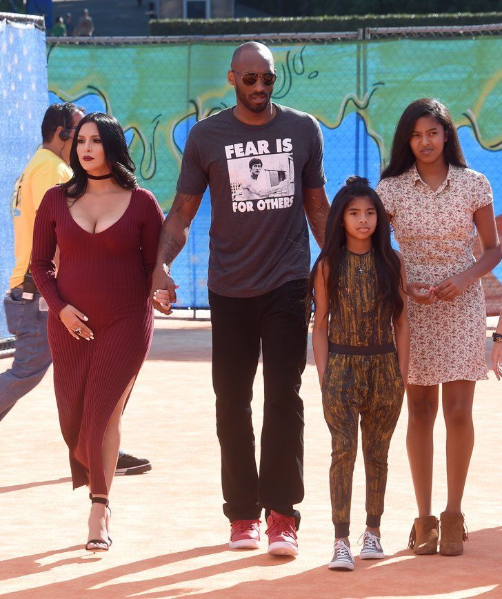 Pin for Later: Kobe Bryant Attends the Kids' Choice Sports Awards With His Gorgeous Wife and Daughters