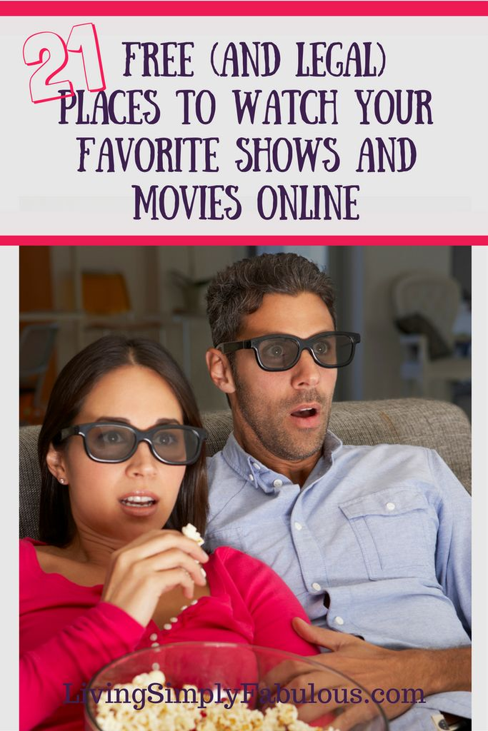 Just because you decided to cut the cable cord, doesn't mean you can't watch your favorite shows. Here are 21 free and legal places to watch your favorite shows and movies online - for free. Watch tv online free.