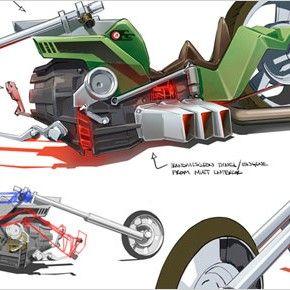 Artes de Motorcity, do Disney XD (post 1)