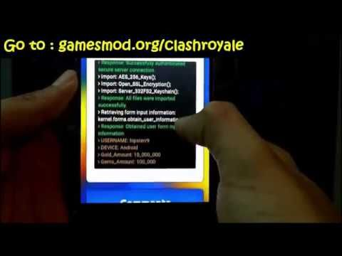Clash Royale Hack Tool 2017- Gems, Gold With Proof