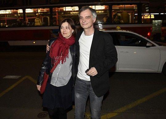 Ivan Trojan s manželkou Klárou