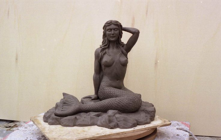 siren - plasticine model - by aldo zoccante