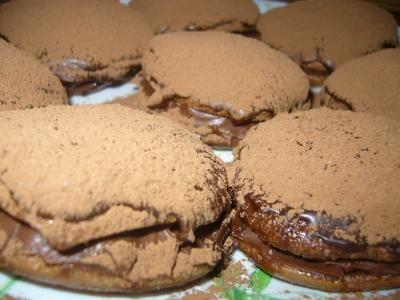 Шоколадные пирожные буше. Обсуждение на LiveInternet - Российский Сервис Онлайн-Дневников