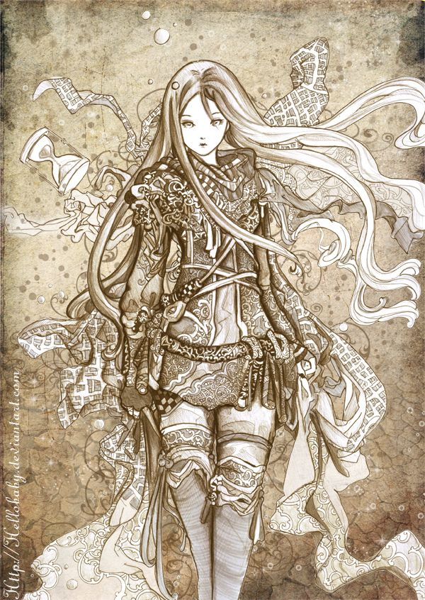 This might be pushing it...Desert Fairy by `Hellobaby on deviantART