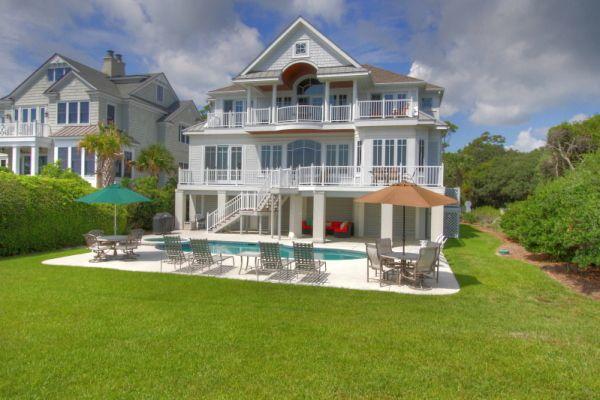 Hilton Head Island Vacation Rental #403246 BeachHouse.com Rent Me! 33 Dune Lane- Oceanfront & Beautiful!