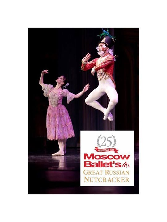 "Celebrate Christmas with the experience taking North America by storm! 25th Anniversary tour Moscow Ballet's #GreatRussianNutcracker features world class Russian artists. See why the press raves ""Knock Out!""- NY Times. Get best seats today www.Nutcracker.com"