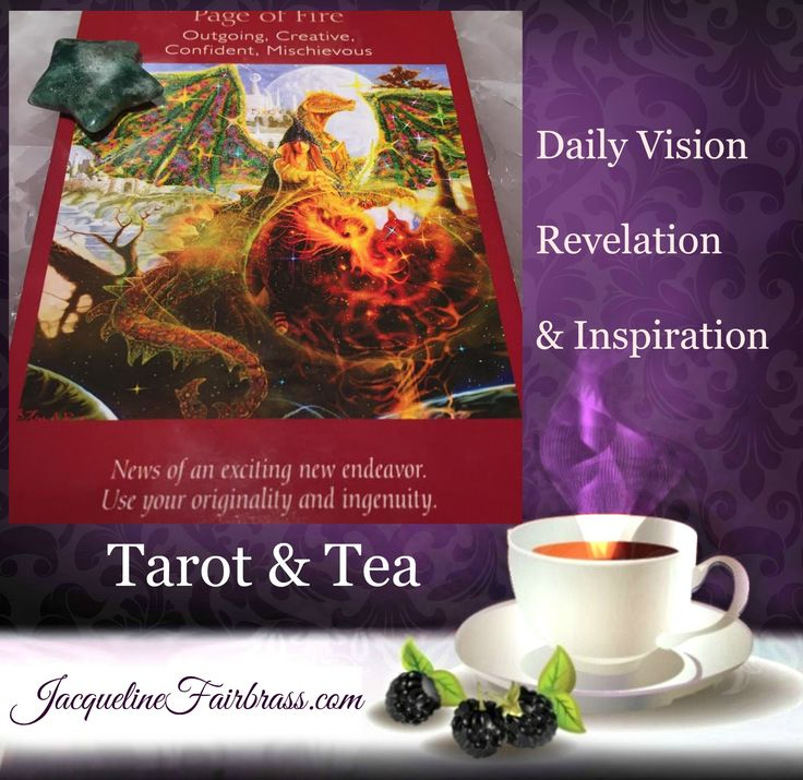 Let's have some fun. #Tarot & #Tea Page of Fire. Get expressive through creativity.  This is the energy of the day, and how to embrace and make the most of it.  Define yourself through light-hearted imagination. Get in touch with your playful side. A new venture is on the horizon, but you can't get to it by playing by the rules.