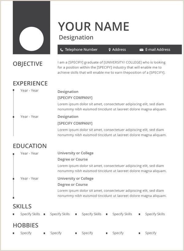 Resume Format For Job Pdf Download Myoscommercetemplates Com Resumetemplatesfree
