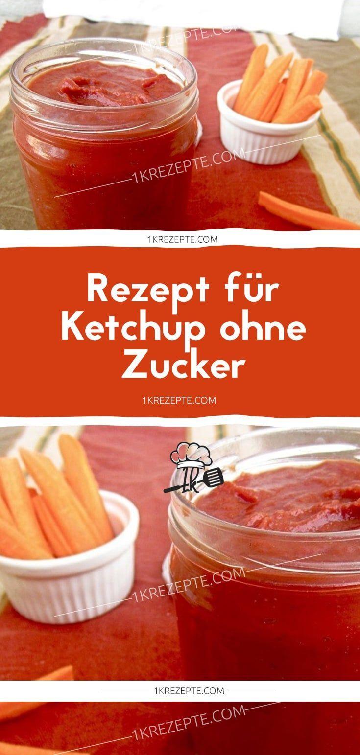 Rezept für Ketchup ohne Zucker  – Der Food-Blog mit einfachen Rezepten, die gel…