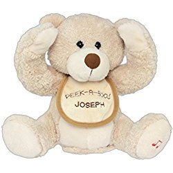 Personalized Embroidered Cuddle Barn Animated Singing Plush Toy - Baby Boo Bear