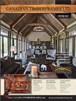 Winter 2012/2013 Newsletters and Features, Canadian Timberframes