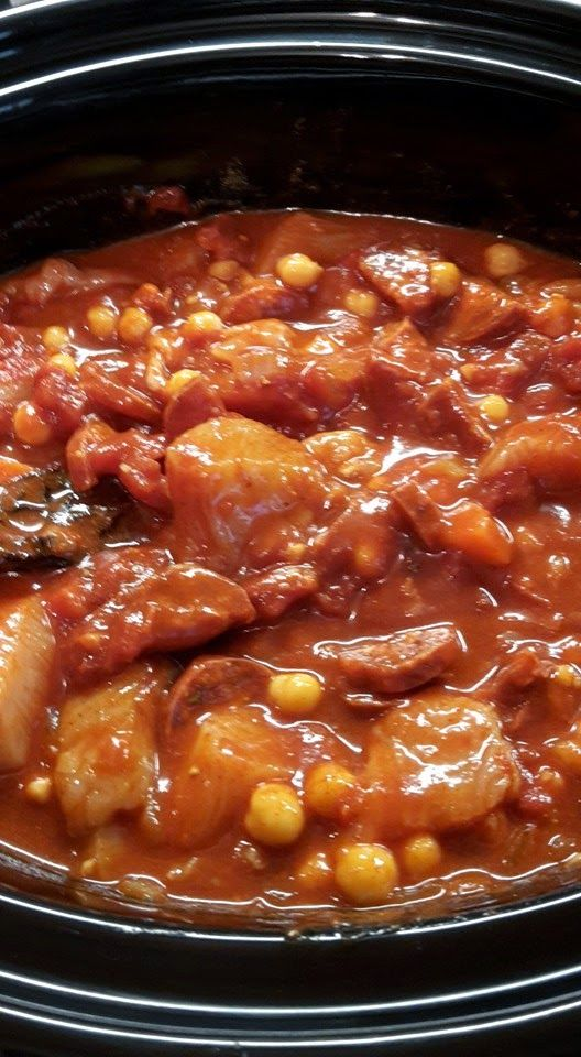 Chicken Chipotle & Chorizo Stew (Slow Cooker)                   Prep time: 10  min   Cook time: 8 hours       Total time: 8 hours   10 min...