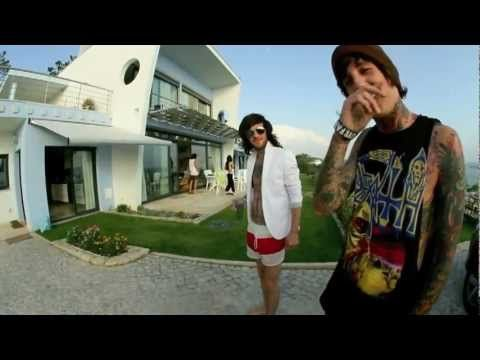 Oliver Sykes from Bring Me The Horizon on MTV Cribs