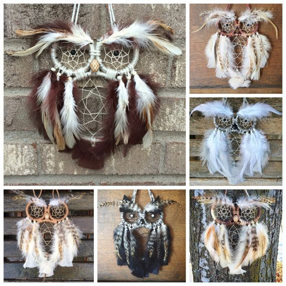 Custom Owl Dreamcatcher by SunChildDreams on Etsy