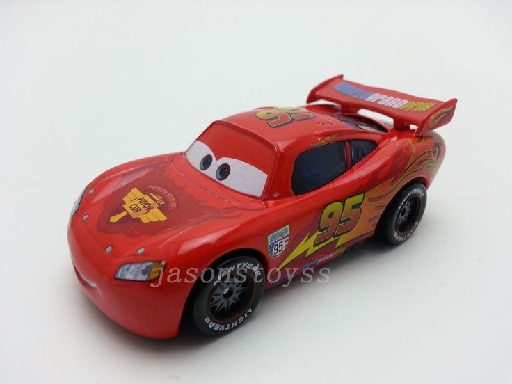 Mattel Disney Pixar Cars 2 Lightning McQueen Diecast Toy Car 1:55 Loose New #Mattel