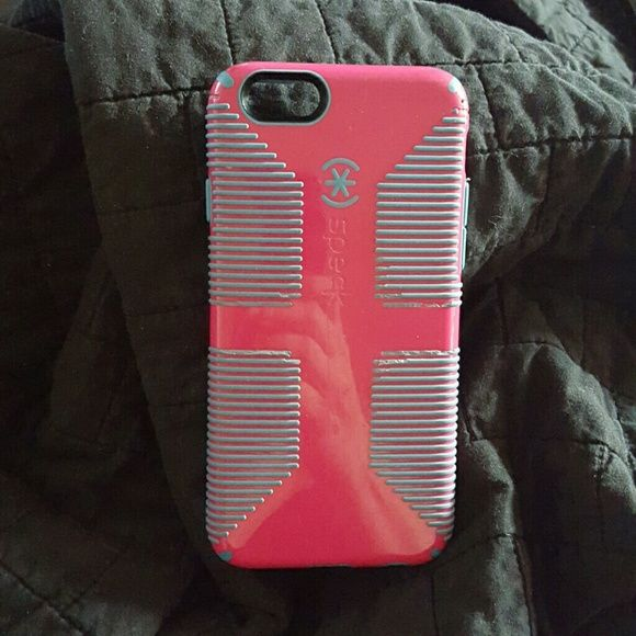 Pink and blue Speck iphone 6s case Very little wear speck Accessories Phone Cases