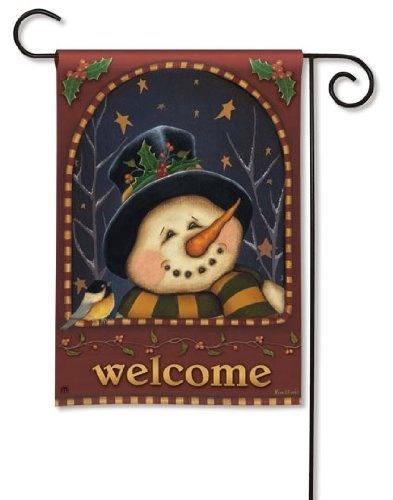 Starry Snowman Winter Garden Flag By Breeze Art, Http://www.amazon