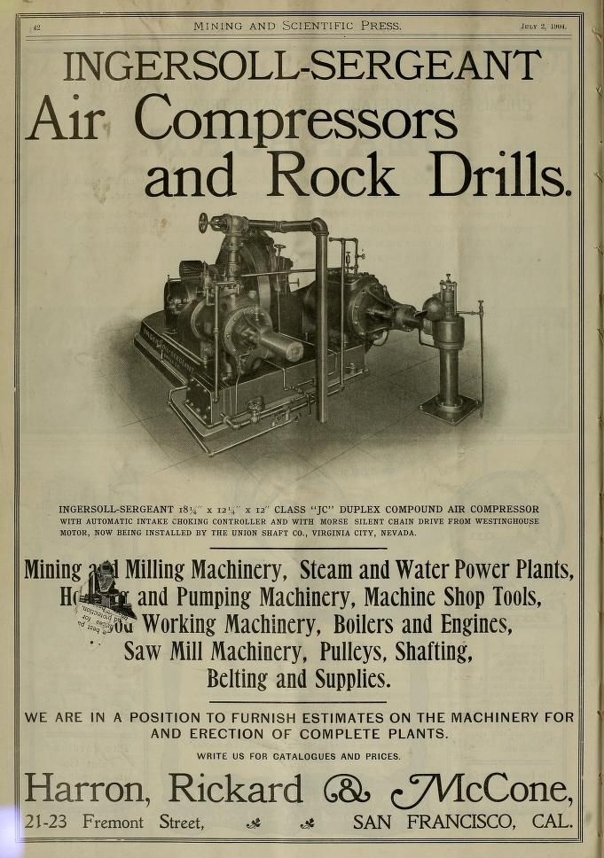 Mining And Scientific Press July Dec 1904 Scientific Vintage
