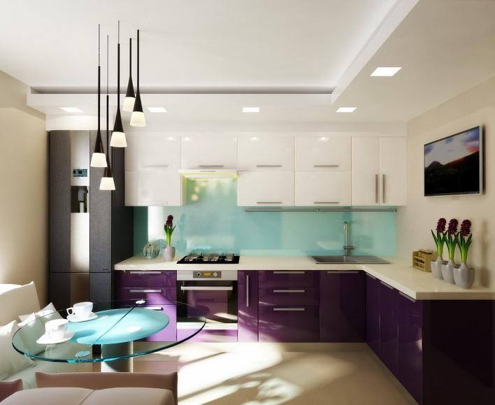Фиолетовая кухня – 50 фото с примерами для вдохновения