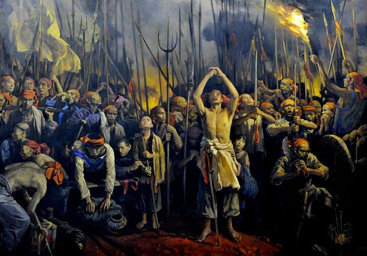 Jintian uprising, Taiping Rebellion, China | East Asian ...
