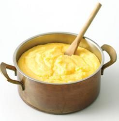 How to make polenta. Super cheap pasta alternative. Make a lot and freeze it; for quick meals top with your favorite pasta sauce.