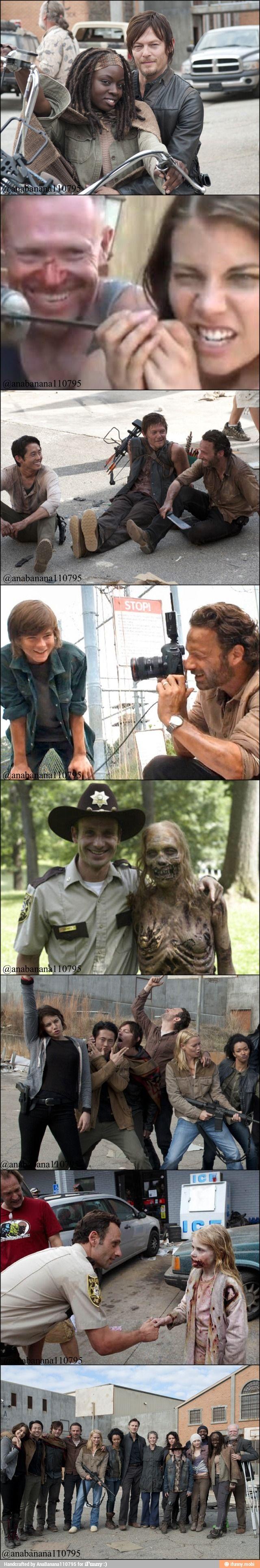 The Walking Dead / @moxiethrift on etsy Wolf @Elyette Yert Yert @Kayla Barkett Spoon