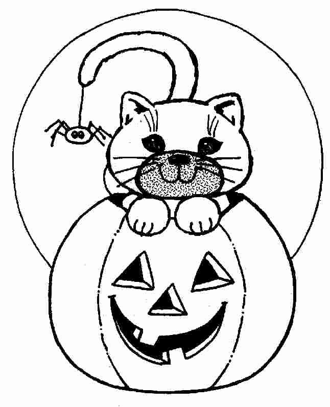 Halloween Black Cat Coloring Pages For Kids In 2020 Halloween Coloring Sheets Cat Coloring Page Dog Coloring Page