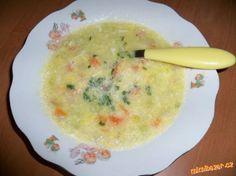 Kedlubnová polévka výborná pro prcky