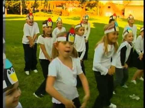 Cvičíme s Míšou Pingvínek (Pinguínek) - YouTube