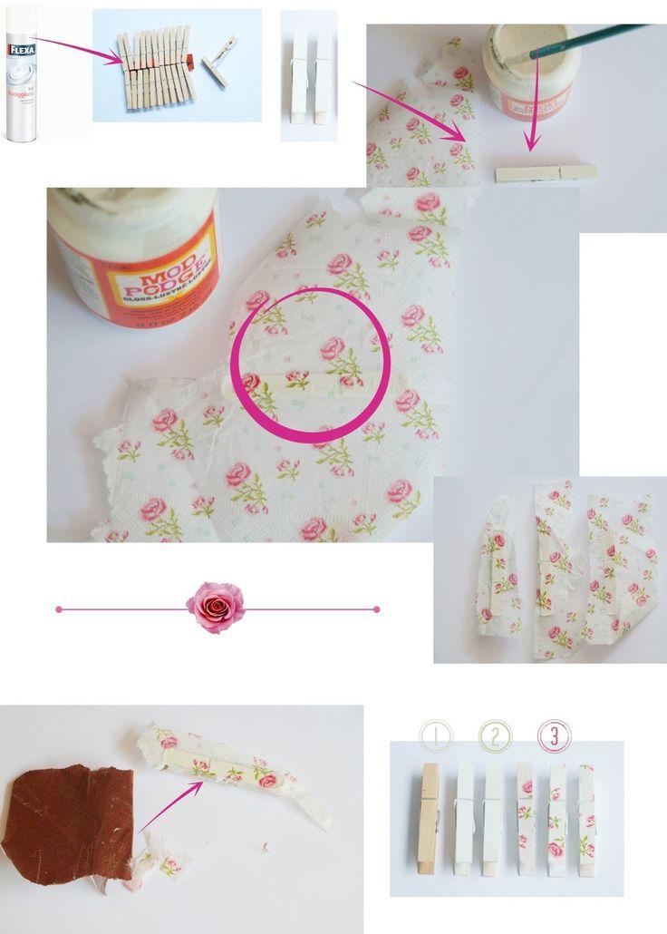 ElsaRblog: Naam kaarten houder van wasknijpers ( Diy tafel dekken)