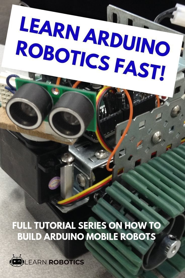 How to Build a Mobile Robot Using Arduino – #Ardui…