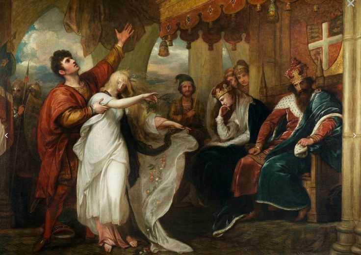 Hamlet Act IV, Scene V ~Ophelia before the King and Queen(100) Twitter