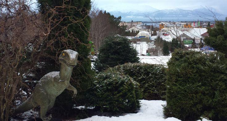 Glem hagenisser, løver og annet. I Molde er det dinosaurer som gjelder.