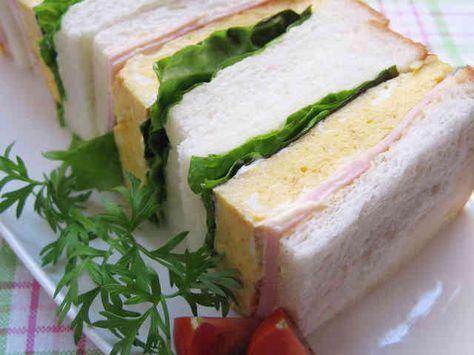 厚焼き卵サンド