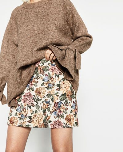 Image 5 of SHORT TAPESTRY SKIRT from Zara