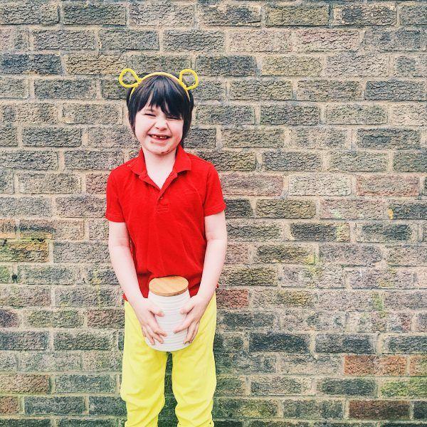 DIY Winnie the Pooh World book day costume