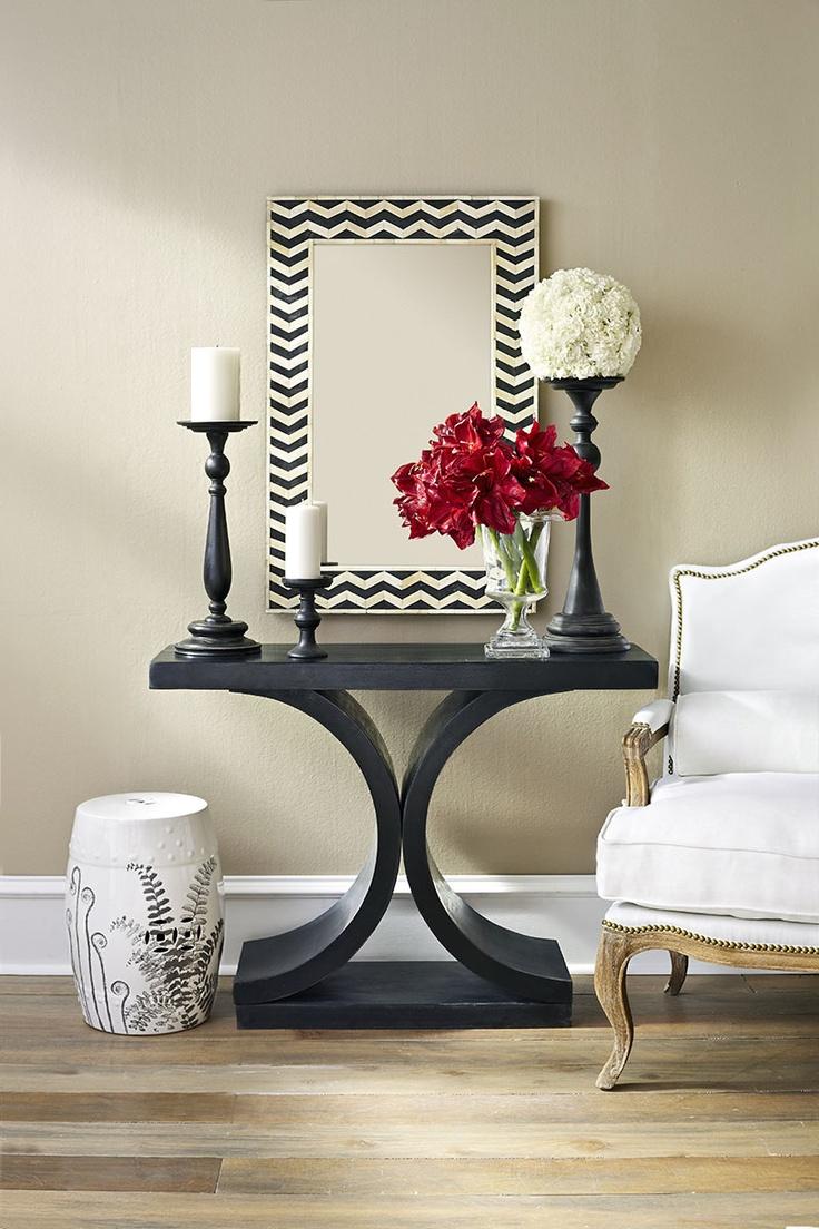 W8231Chevron Mirror Mirrors; wisteria.com