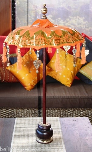 Balinese Ceremonial Decorative Umbrella Amp Tassles Bali