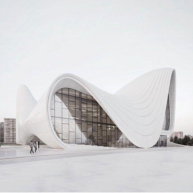 Awesome #architecture_hunter The Heydar Aliyev Center In Baku Azerbaijan By Zaha  Hadid Via: @meandmybentley. Futuristic ArchitectureAmazing ... Gallery