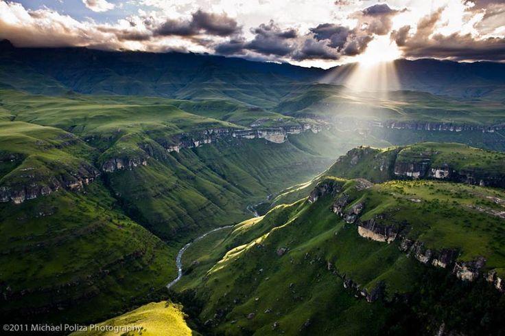 Zuid Afrika Drakensberge