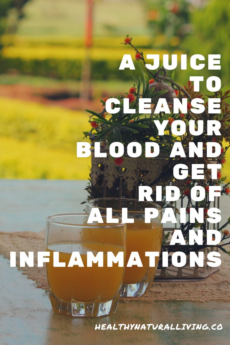 Cleanse Your Blood, Get Rid Of All Pains And Inflammations Thanks To This Juice! Unique Fashion USA
